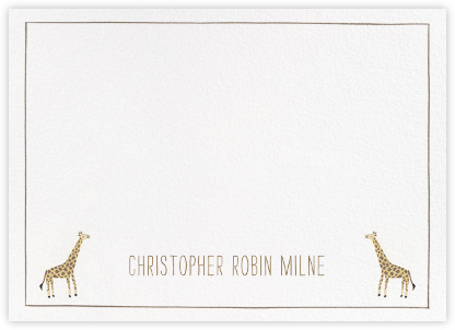 Friends at the Zoo - Paperless Post - Baby and kids' stationery