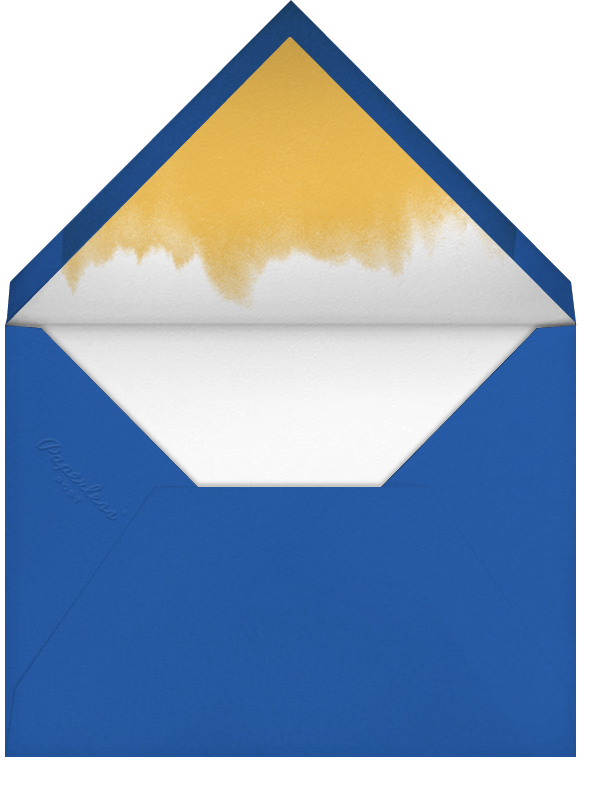 Red Rooster - Paperless Post - Personalized stationery - envelope back