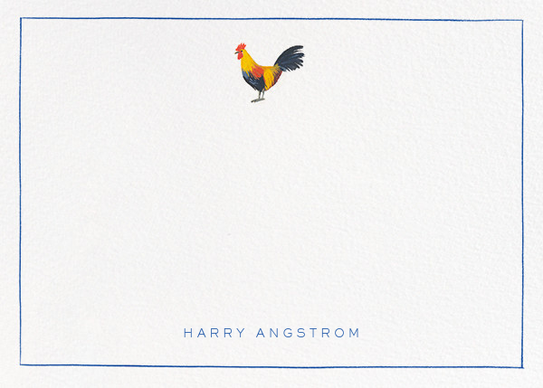 Red Rooster - Paperless Post - Stationery