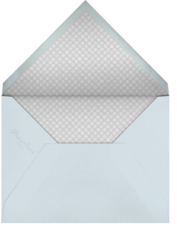 Lingerie Shower - Paperless Post - Bridal shower - envelope back
