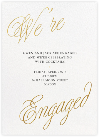 Grand Plans - Paperless Post - Engagement party invitations