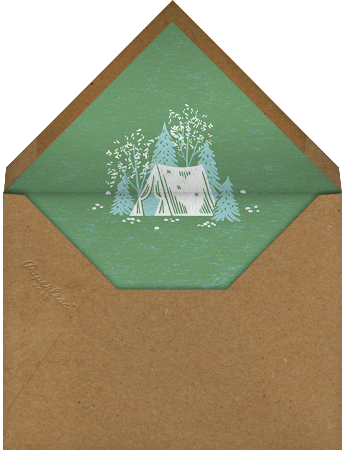 Camp Stories - Caribbean - Paperless Post - General entertaining - envelope back