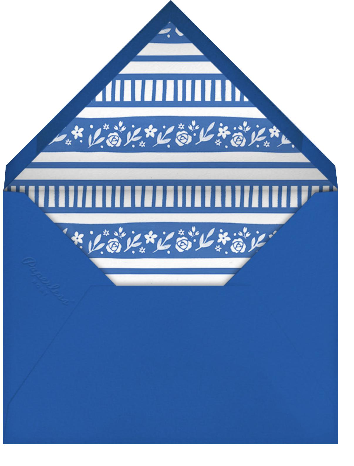 Seder Soup - Paperless Post - Passover - envelope back