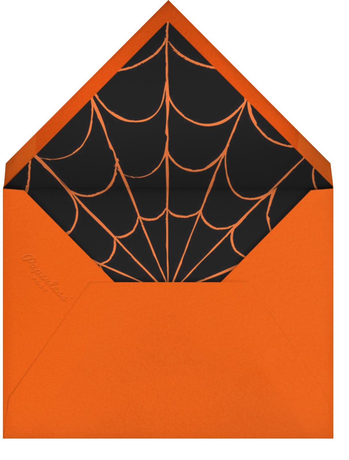 Monster Masks - Paperless Post - Halloween - envelope back