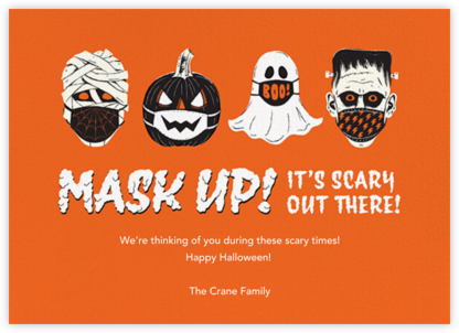 Monster Masks - Paperless Post -