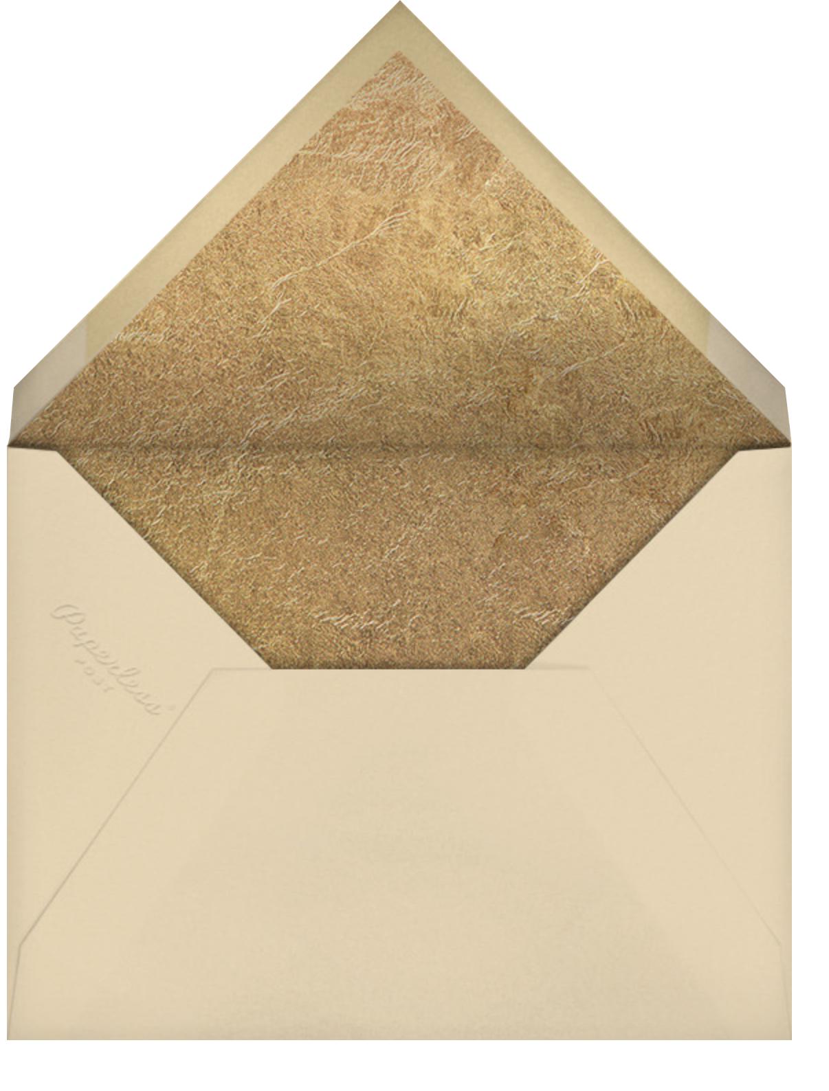 Sweet Wreath - Paperless Post - Rosh Hashanah - envelope back
