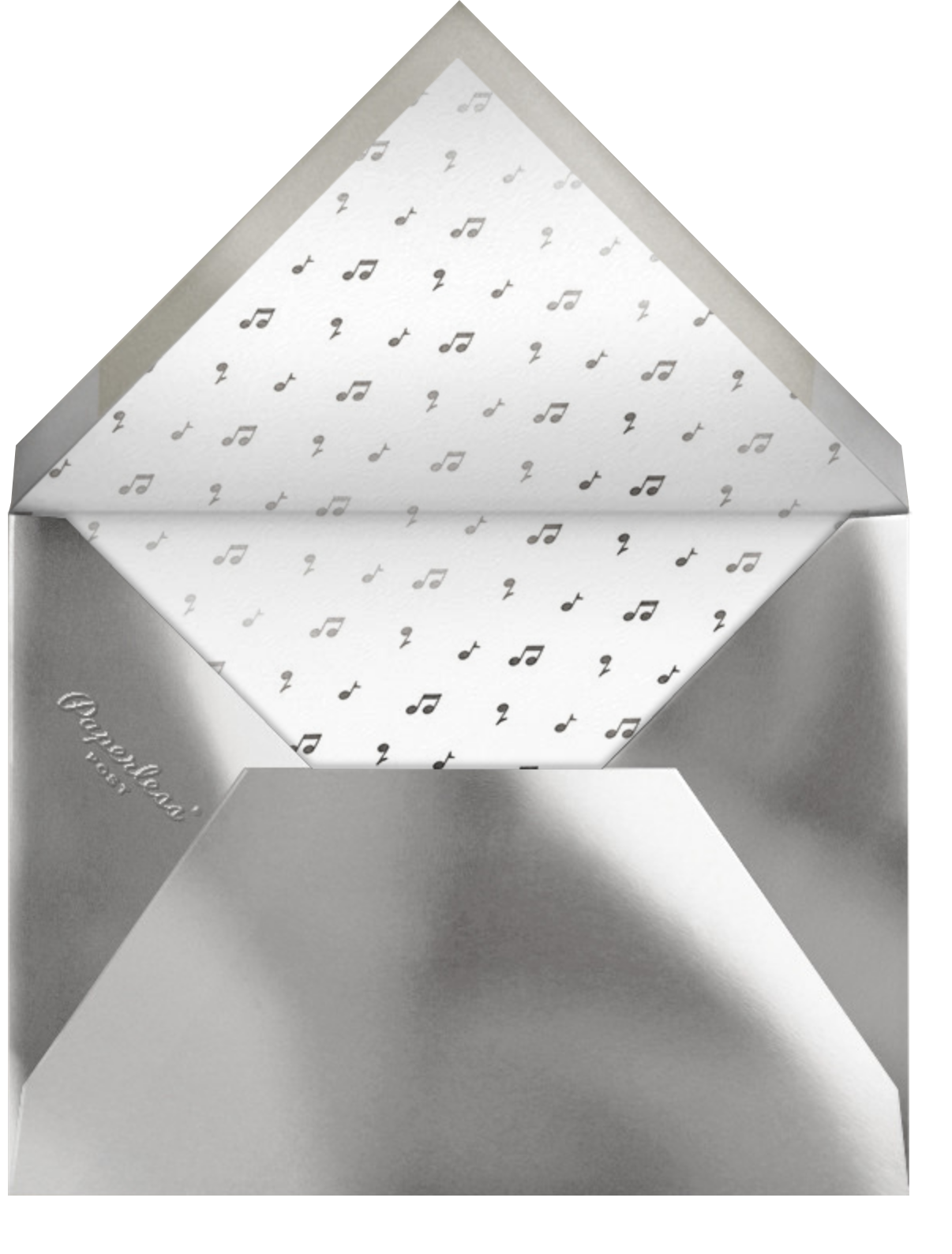 Have a Ball - Meringue - Paperless Post - Bar and bat mitzvah - envelope back