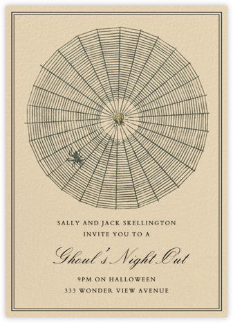 Prey - John Derian - Halloween invitations