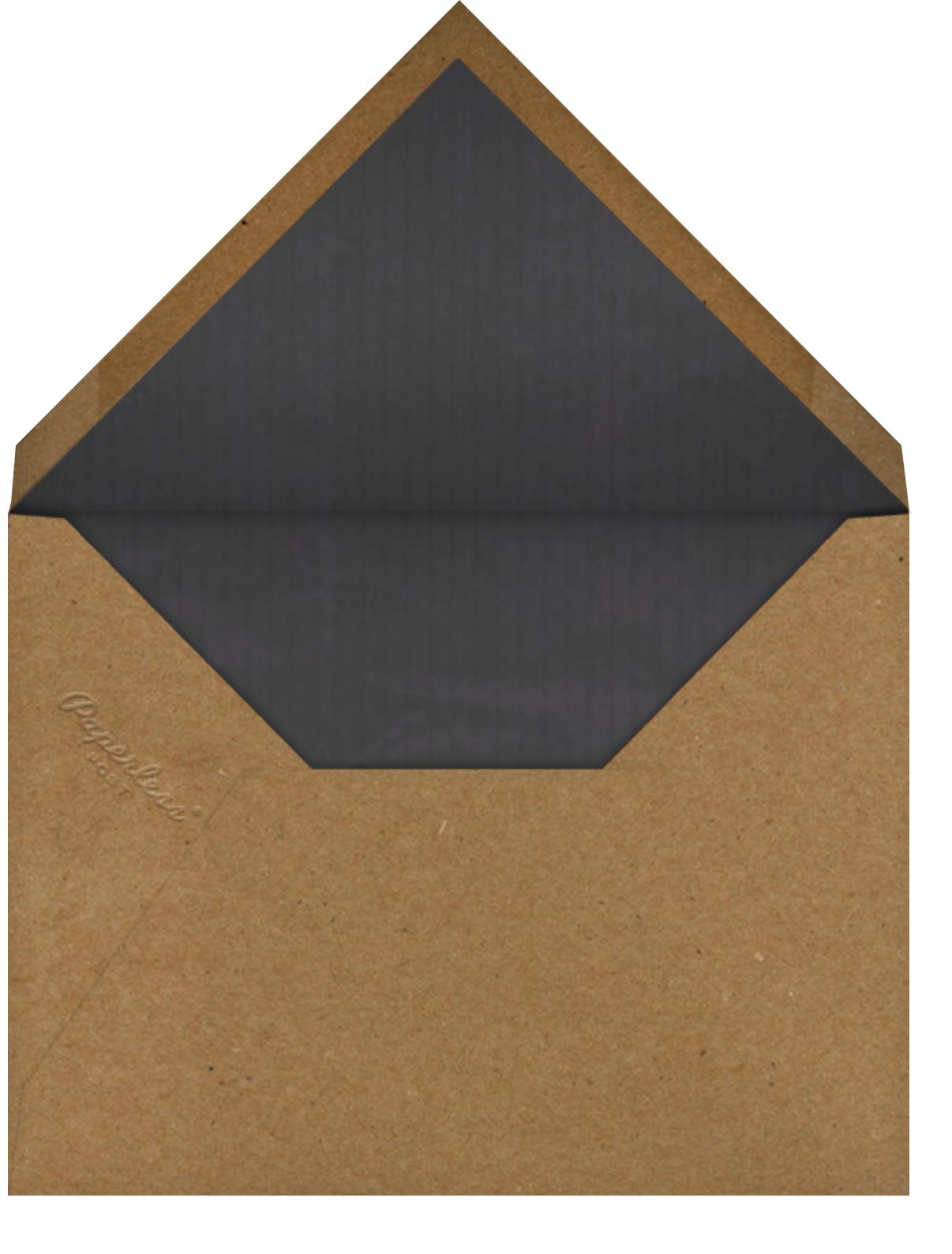 Prey - John Derian - Halloween - envelope back