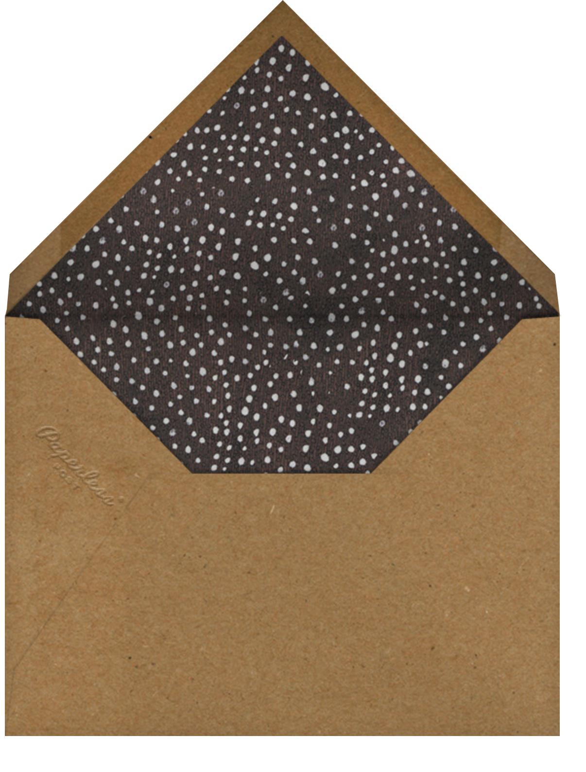 Candy Apples - John Derian - Halloween - envelope back