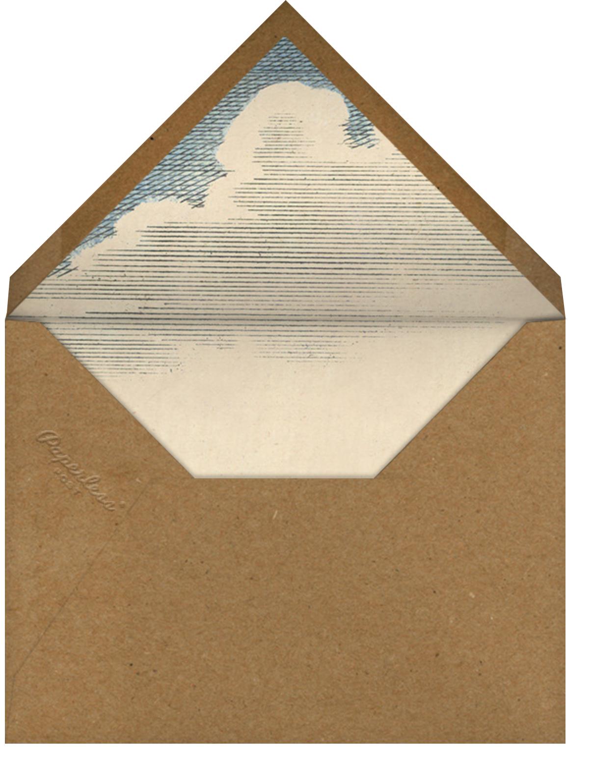 Crescent Moon - John Derian - Halloween - envelope back