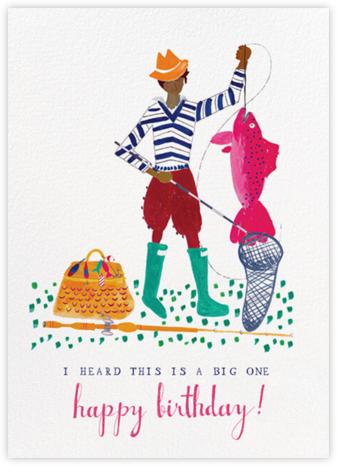 A Big Mackerel - Tan - Mr. Boddington's Studio - Birthday Cards