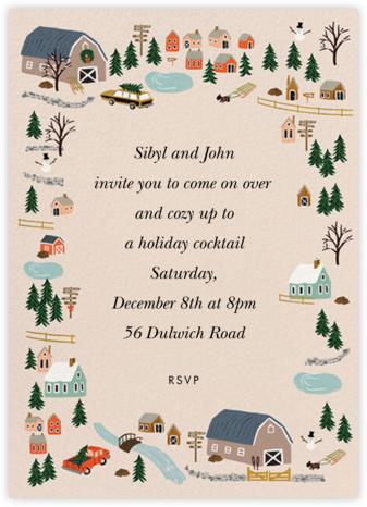 Holiday Tree Farm - Rifle Paper Co. - Holiday invitations