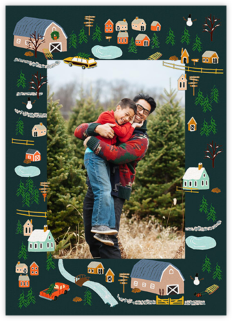 Holiday Tree Farm Photo - Rifle Paper Co. -