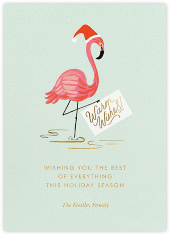 Holiday Flamingo - Rifle Paper Co. -