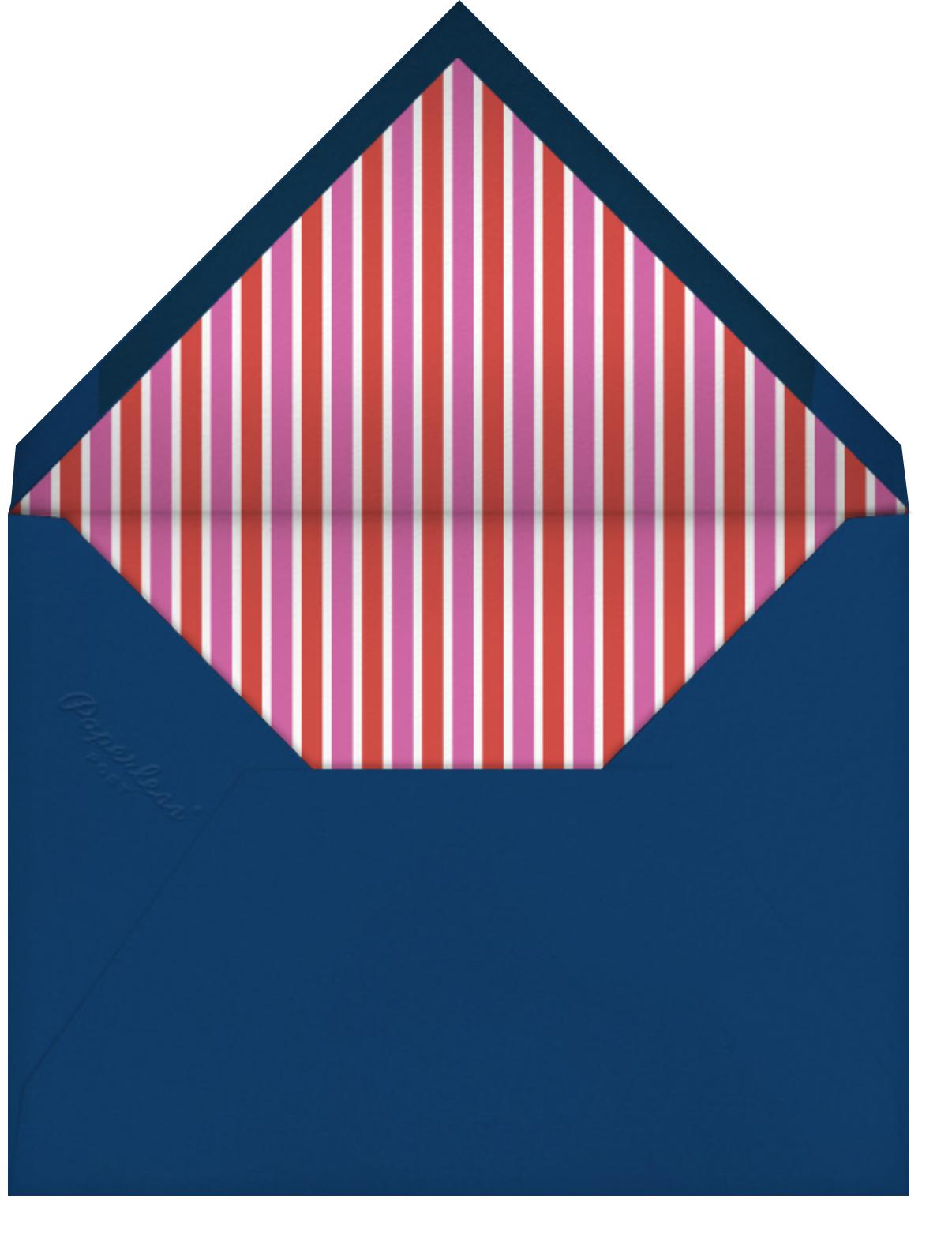 Mermaid's Birthday - Fair - Mr. Boddington's Studio - Birthday - envelope back