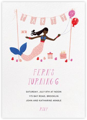 Party's Going Swimmingly - Deep - Mr. Boddington's Studio - Online Kids' Birthday Invitations