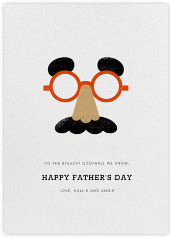 Goofball - Medium - Paperless Post - Father's Day Cards