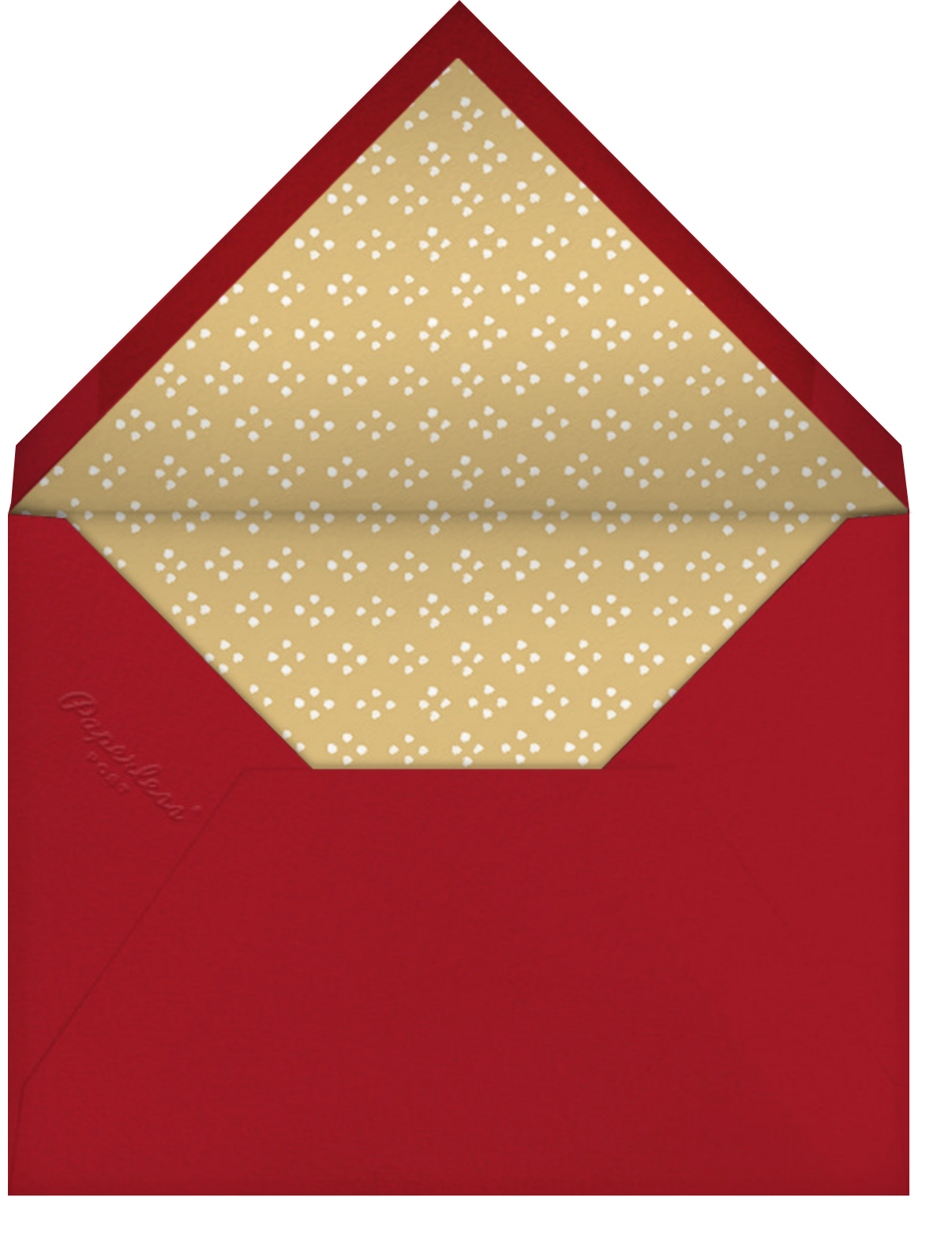 Herald Angel - Medium - Paperless Post - Envelope