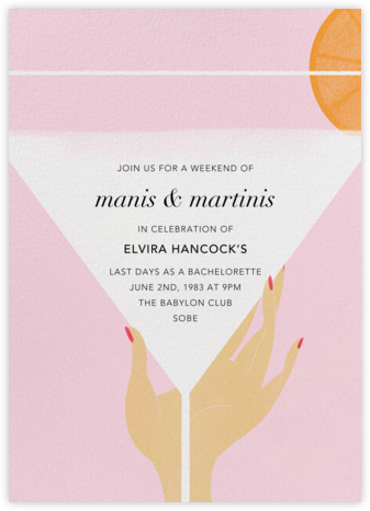 Extra Dry - Light - Paperless Post - Invitations for Entertaining