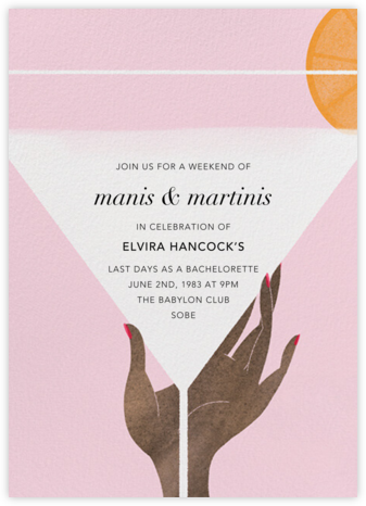 Extra Dry - Deep - Paperless Post - Happy Hour Invitations