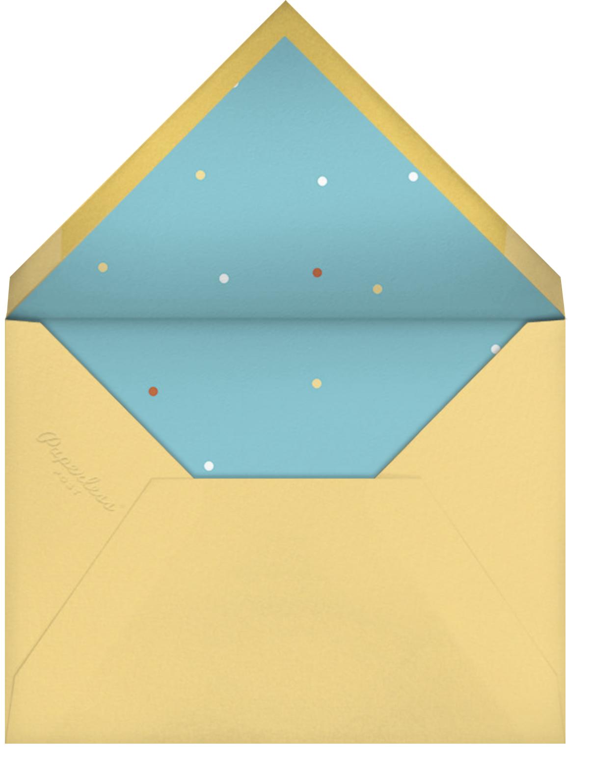 Shofar Shout - Paperless Post - Rosh Hashanah - envelope back