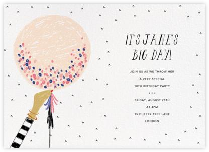 Ready to Burst - Pavlova/Light - Mr. Boddington's Studio - Birthday invitations