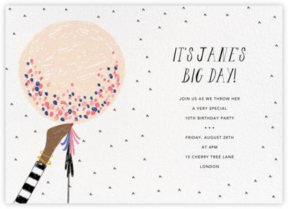 Ready to Burst - Pavlova/Tan - Mr. Boddington's Studio - Online Kids' Birthday Invitations