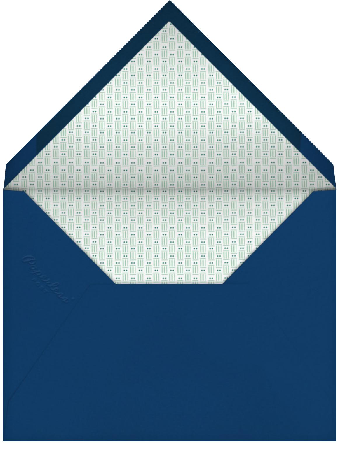 Special Delivery - Deep - Mr. Boddington's Studio - Birthday - envelope back