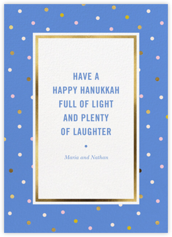 Wrapping Paper - Antwerp - kate spade new york - Hanukkah Cards