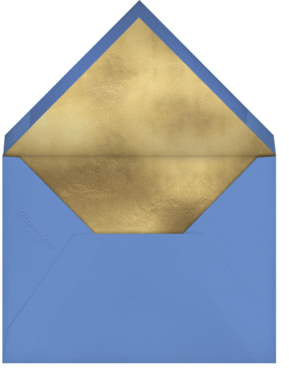 Wrapping Paper Photo - Antwerp - kate spade new york - Hanukkah - envelope back