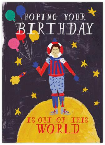 Worldly Birthday - Light - Mr. Boddington's Studio -