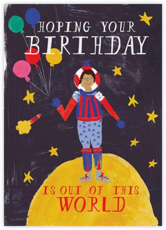 Worldly Birthday - Medium - Mr. Boddington's Studio - Birthday Cards