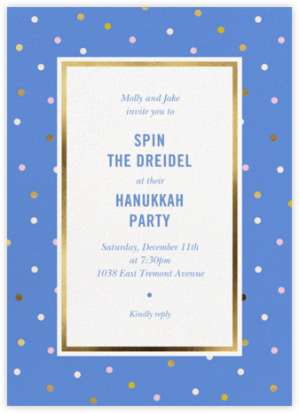 Wrapping Paper - Antwerp - kate spade new york - Hanukkah Invitations