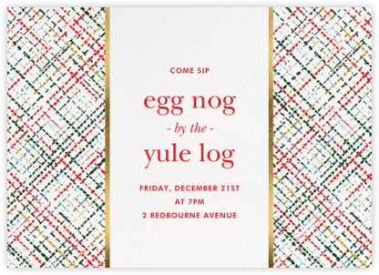Neat Knit - kate spade new york - Holiday invitations