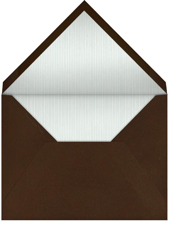 Interior Border (Valrhona) - rectangular photo - Paperless Post - null - envelope back