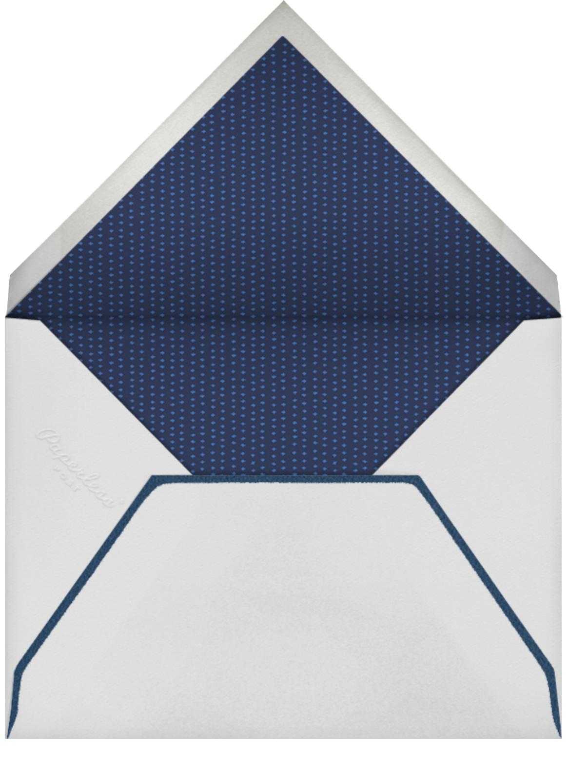 Thoroughbred Birthday - Robin'sEgg/Light - Paperless Post - Envelope