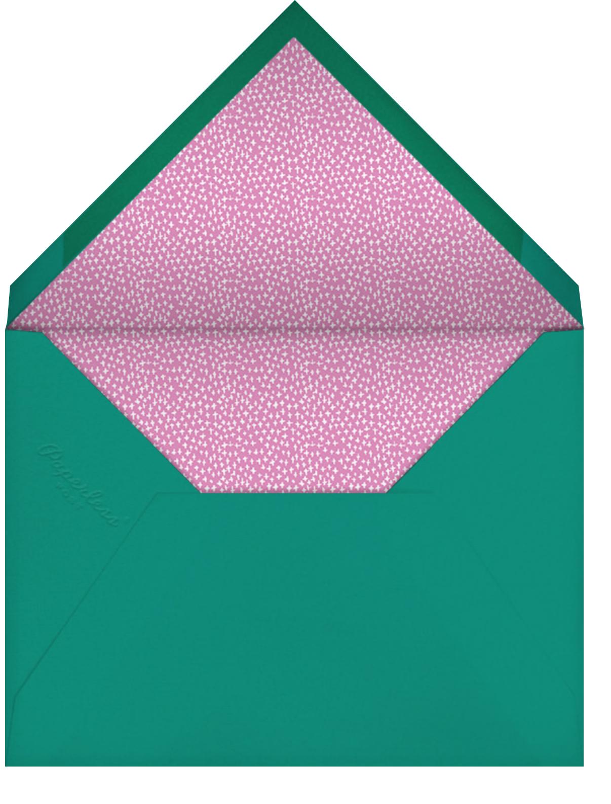 Carrier Pigeon - Mr. Boddington's Studio - Birthday - envelope back