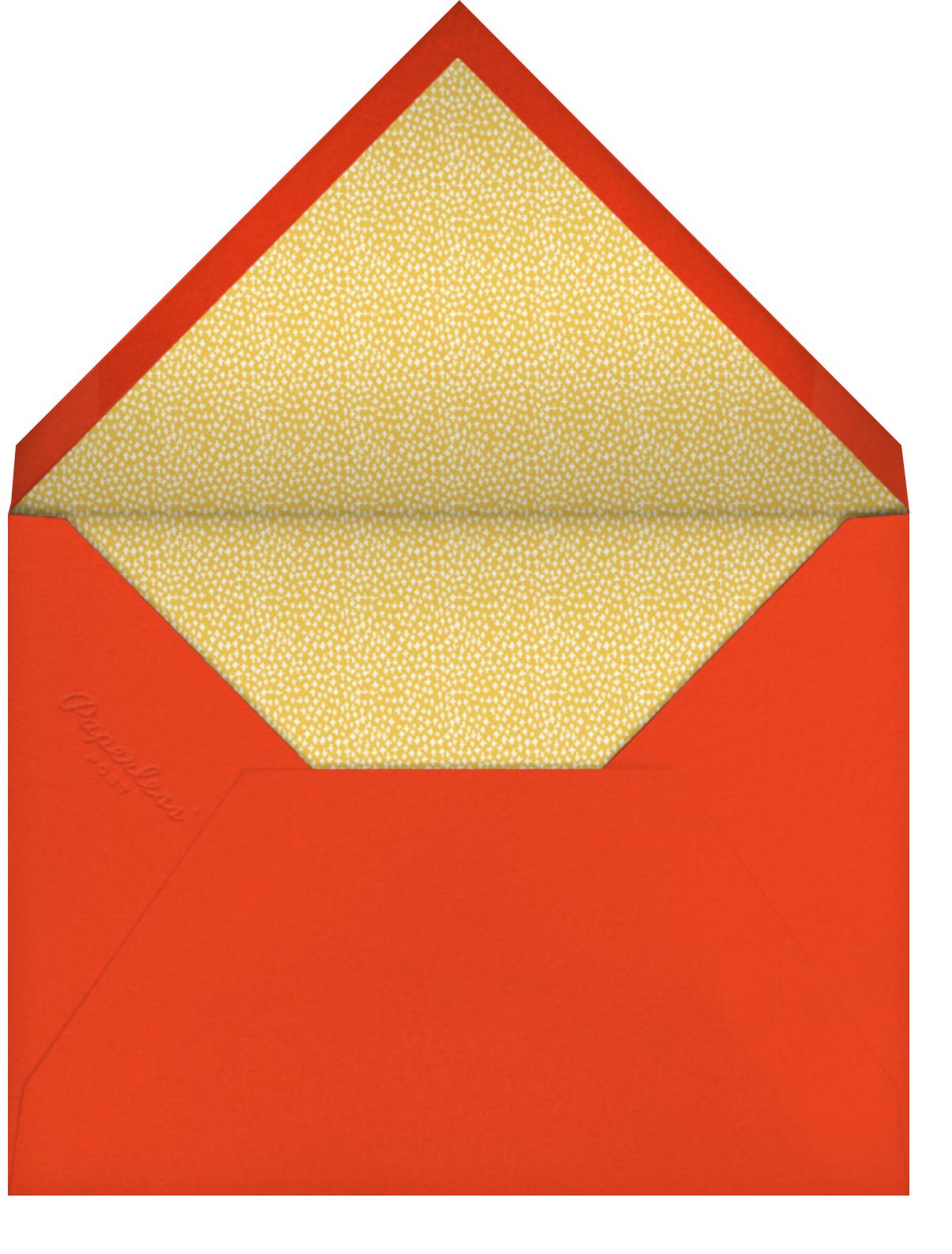 Berry Frame - Flame - Mr. Boddington's Studio - Thanksgiving - envelope back