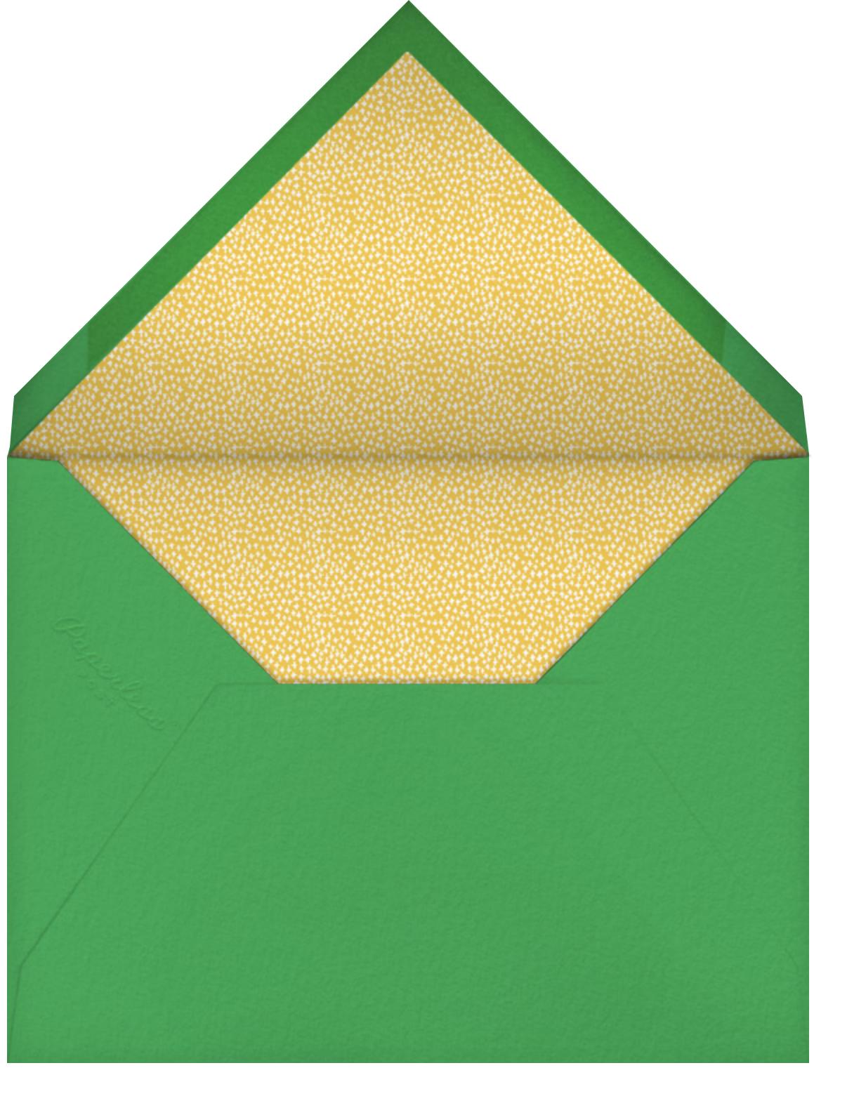 Bench Buds - Mr. Boddington's Studio - Love and romance - envelope back