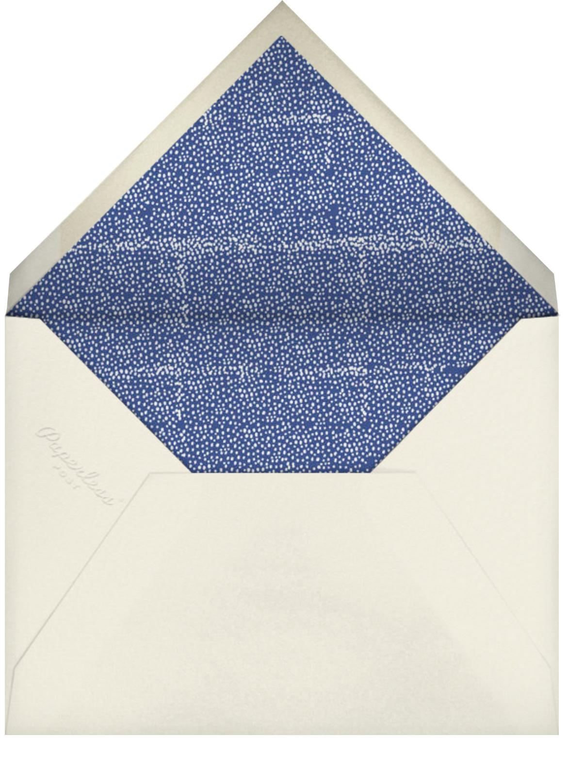 For the Gram - Mr. Boddington's Studio - Thinking of you - envelope back