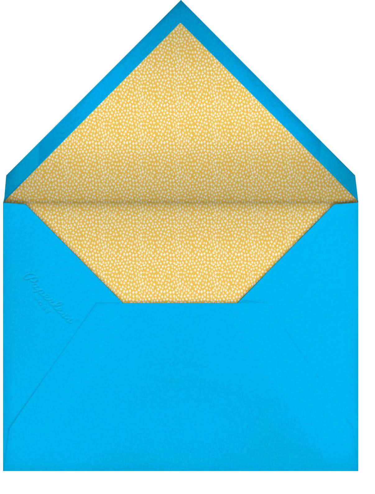 Rainbow Garden - Mr. Boddington's Studio - Thinking of you - envelope back