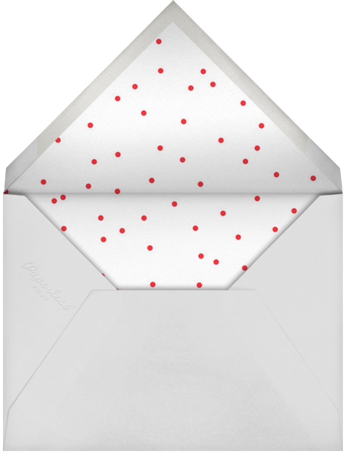 Best Nine - Cheree Berry - Holiday cards - envelope back