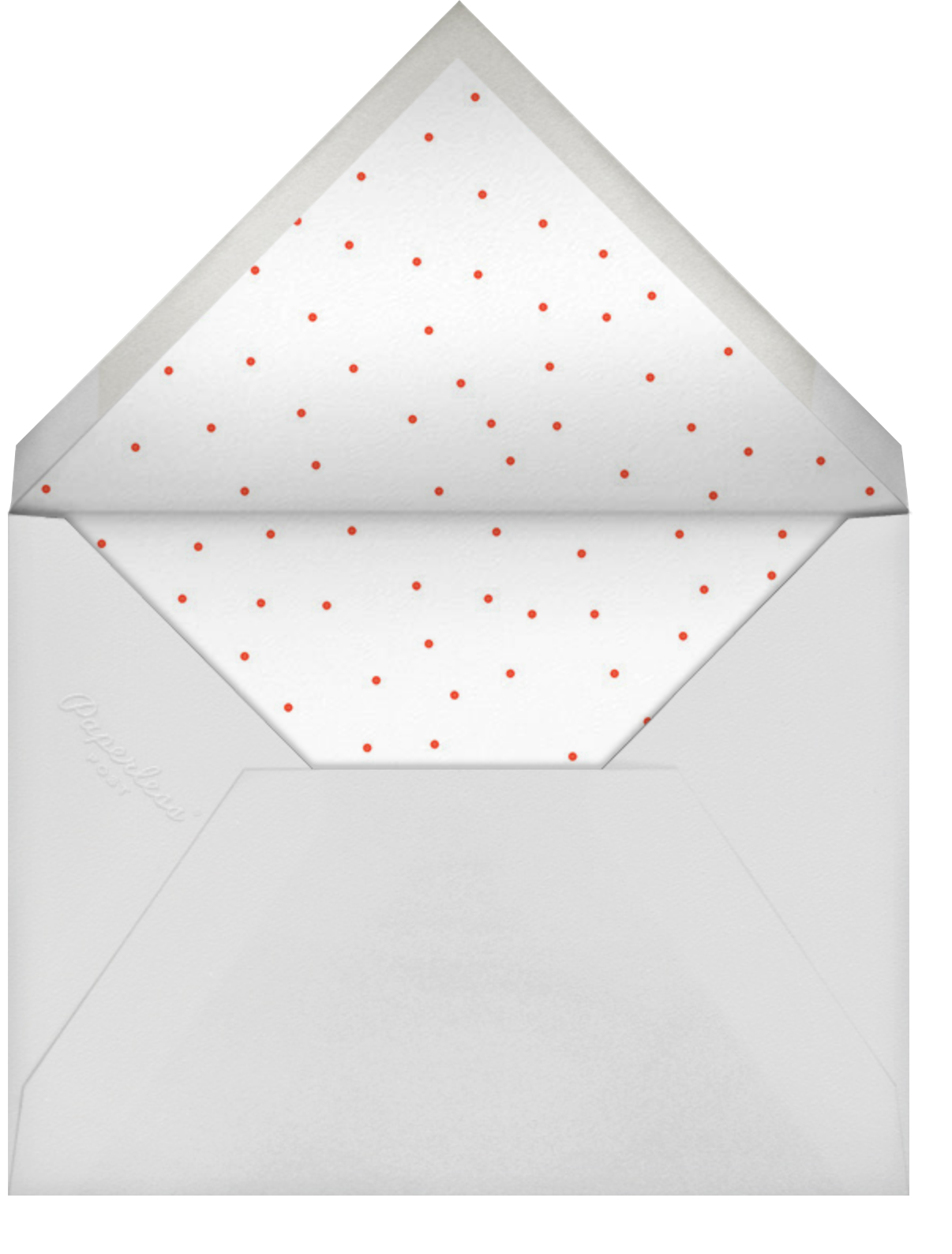 Caps Wrap - Cheree Berry Paper & Design - Holiday cards - envelope back