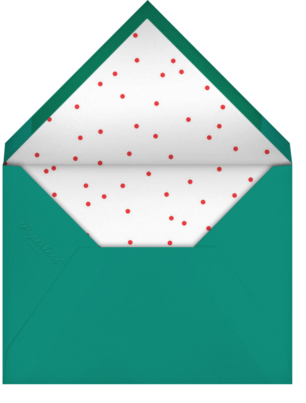 Snow Bubble - Cheree Berry - Christmas - envelope back