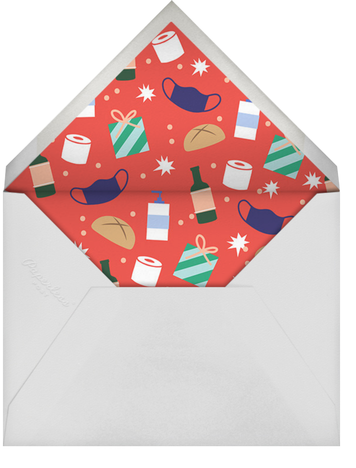 Digital Love - Cheree Berry - Holiday cards - envelope back