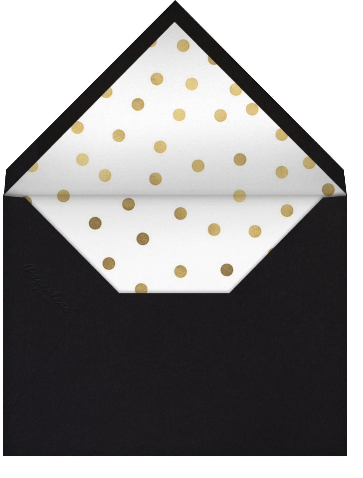 Keeper - Cheree Berry - Adult birthday - envelope back