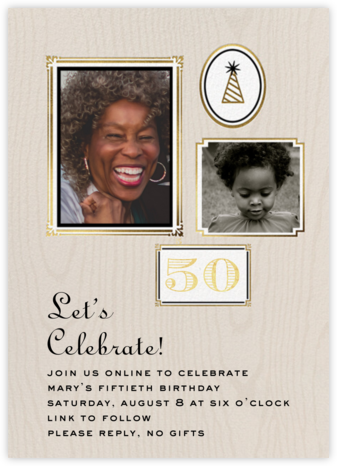 Keeper - Cheree Berry - Milestone Birthday Invitations