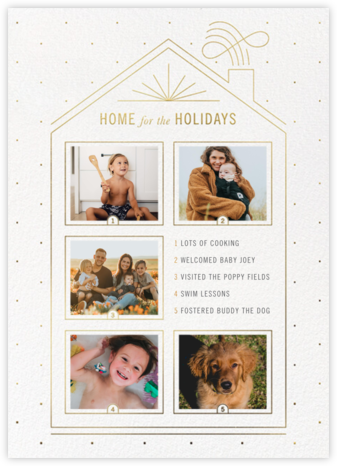 Five Windows - Paperless Post - Christmas Cards