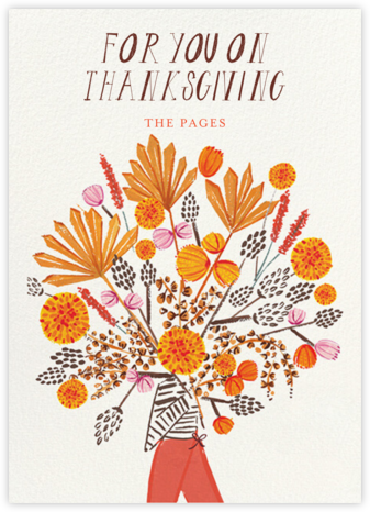Thanksgiving Bouquet - Mr. Boddington's Studio -